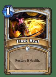 1-Flash Heal