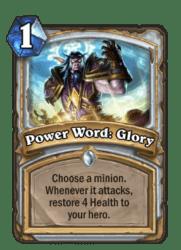 1-Power Word Glory