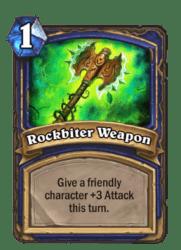 1-Rockbiter Weapon