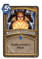 5-Blessed Champion