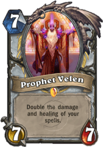 Imagine what kind of trouble you could get into with Prophet Velen on the board.