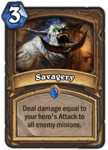 Savagery Prenerf